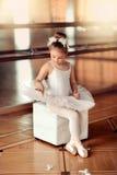 芭蕾舞女演员一点 免版税库存图片