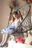 芭蕾舞女演员一点 免版税库存照片