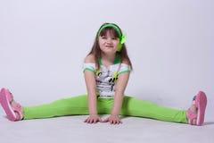 芭蕾舞女演员一点 免版税图库摄影