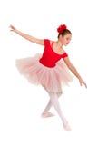 芭蕾舞女演员优美的年轻人 免版税库存照片