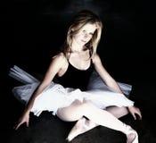 芭蕾舞女演员发光 图库摄影