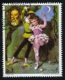 芭蕾舞女演员和Gioacchino罗西尼画象Cydney 免版税图库摄影