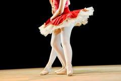 芭蕾舞女演员天使 免版税图库摄影
