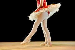芭蕾舞女演员天使 库存图片