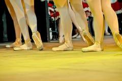 芭蕾舞女演员天使 免版税库存图片