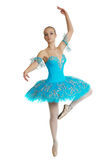 芭蕾舞女演员姿势 免版税库存图片