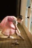 芭蕾舞女演员年轻人 库存图片