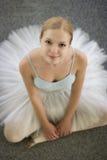 芭蕾舞女演员微笑 免版税图库摄影