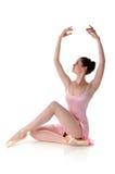芭蕾舞女演员执行 库存照片