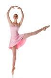 芭蕾舞女演员执行 免版税图库摄影