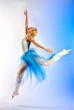芭蕾舞女演员排练 免版税库存照片
