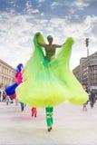 芭蕾舞女演员显示(荷兰),在B-FIT里面2016年 库存照片