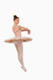 芭蕾舞女演员空转 免版税库存照片