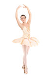 芭蕾舞女演员美丽的舞蹈演员 库存照片