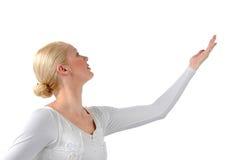芭蕾舞女演员美好的配置文件s 库存图片