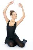 芭蕾舞女演员美妙的年轻人 库存图片