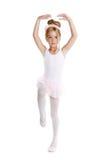 芭蕾舞女演员跳舞一点的芭蕾子项 免版税库存图片