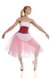 芭蕾舞女演员跳舞 免版税图库摄影