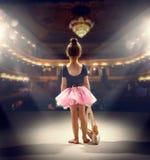 芭蕾舞女演员 免版税库存图片