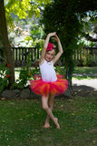 芭蕾舞短裙的女孩。 免版税库存图片
