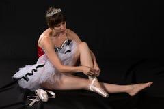芭蕾舞短裙 库存图片