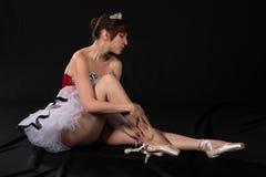 芭蕾舞短裙 免版税库存照片