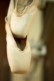 芭蕾舞鞋 免版税库存照片