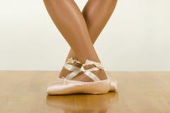 芭蕾锻炼 图库摄影