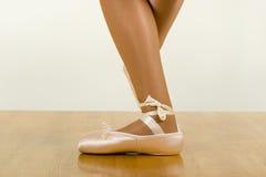 芭蕾锻炼 免版税库存照片