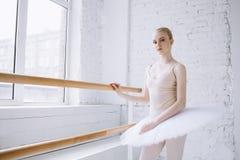 芭蕾类的年轻芭蕾舞女演员 免版税图库摄影
