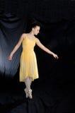 芭蕾pointe 库存照片