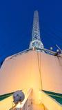 芭达亚公园塔的高山 库存照片