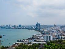 芭达亚市,泰国 免版税库存照片