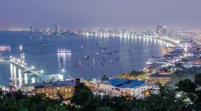 芭达亚是美丽的海滩在泰国 库存照片