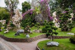 芭达亚泰国百万年化石庭院和鳄鱼公园 库存图片