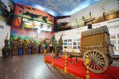 芭达亚浮动市场是普遍的旅行目的地在芭达亚 免版税库存图片