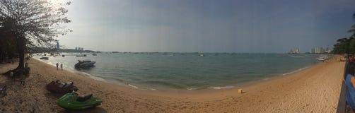 芭达亚海滩 库存图片