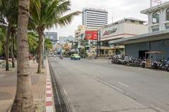 芭达亚,泰国- 2014年12月17日 免版税库存图片