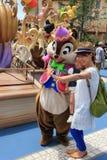 芯片和戴尔东京迪士尼海洋游乐园的 免版税库存图片