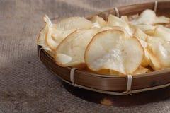 芯片木薯 库存照片