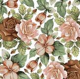 花。玫瑰。美好的背景。 免版税库存照片