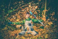 花匠受欢迎的秋季 免版税库存照片