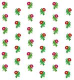 花卉五颜六色的样式背景 库存图片