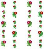 花卉五颜六色的样式背景 免版税库存图片