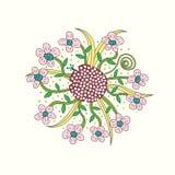花卉传染媒介例证 图库摄影