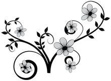 花卉元素37 库存例证