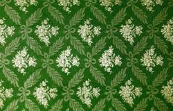 花卉减速火箭的墙纸 免版税库存图片
