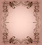 花卉向量框架 库存图片