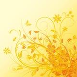 花卉向量 免版税库存图片