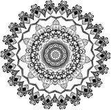 花卉圆的鞋带坛场Vecor图画  向量例证